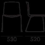 Étkezőszékek / TWEET 897 - étkezőszék