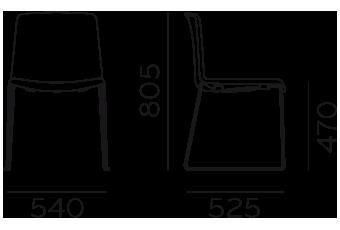 Étkezőszékek / TWEET 897_2 - étkezőszék