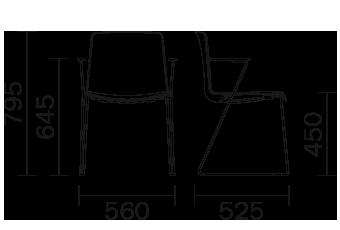 Étkezőszékek / TWEET 898 - étkezőszék