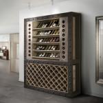 Komódok, Polcok, Vitrinek, TV állványok / Merlot 387218 - bortároló szekrény
