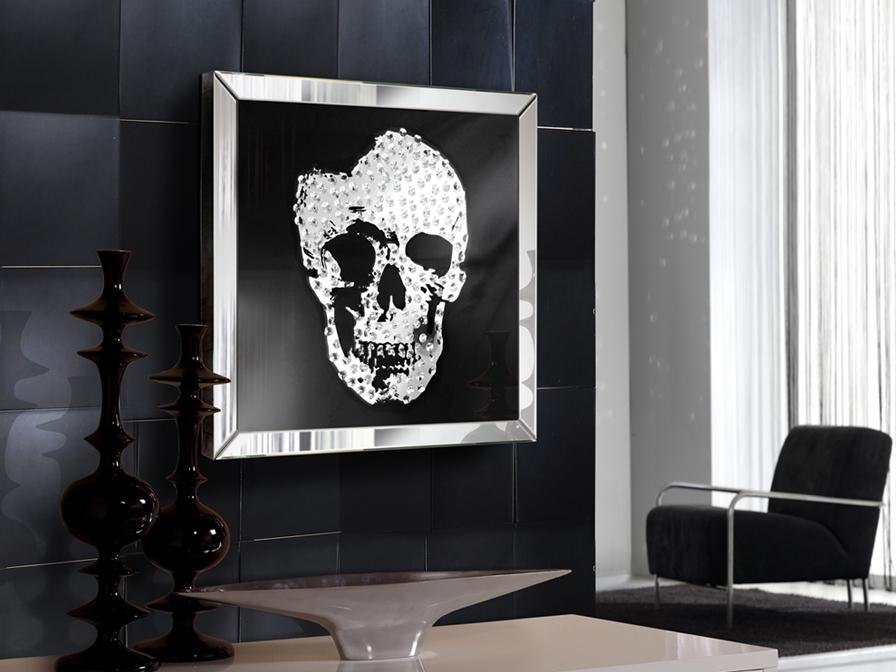 Tükrök / Skull 786351 - tükör