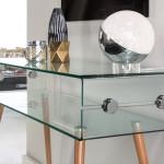 Konzolasztalok / Glass II 842130 - konzolasztal