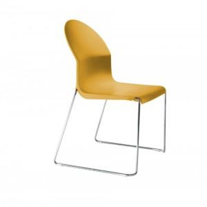Aida Chair - Chrome Base