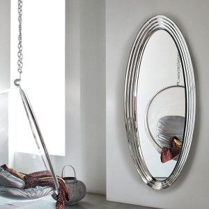 Specchio-in-cristallo-Queen-cerchi-concentrici-ovale