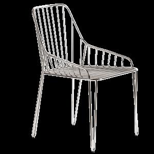 Sedia-di-design-in-metallo-Piuma