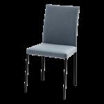 Sedia-in-pelle-con-schienale-basso-Denise-Flex