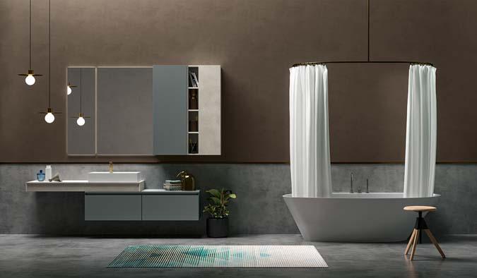 Fürdőszoba / 45_1 - fürdőszoba bútor kompozíció