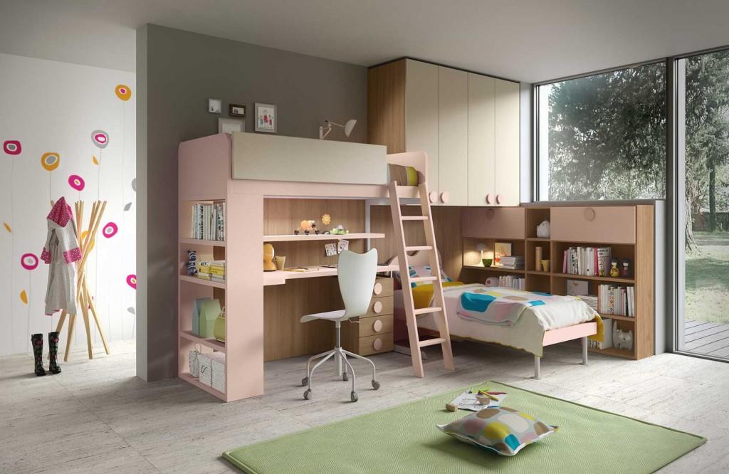 Gyerek- és Ifjúsági Bútorok / TAG_23 - gyerekszoba kompozíció