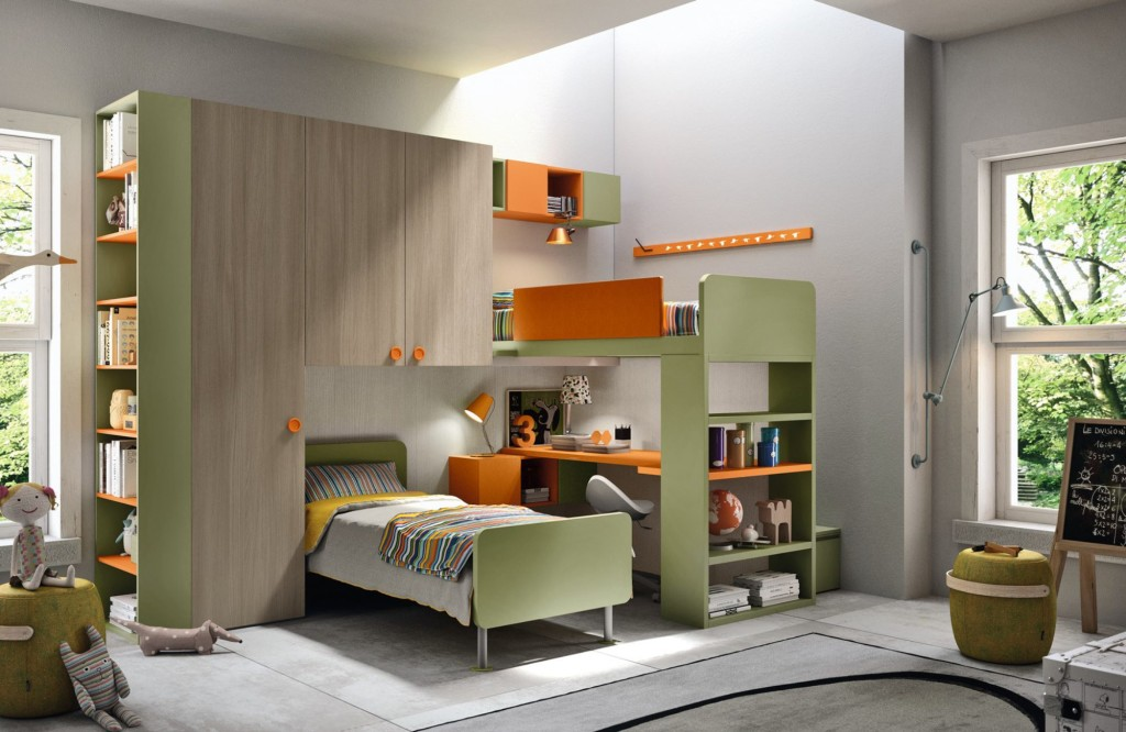 Gyerek- és Ifjúsági Bútorok / TAG_30 - gyerekszoba kompozíció