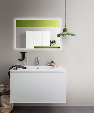 Fürdőszoba / Lapis_5 - fürdőszoba bútor kompozíció