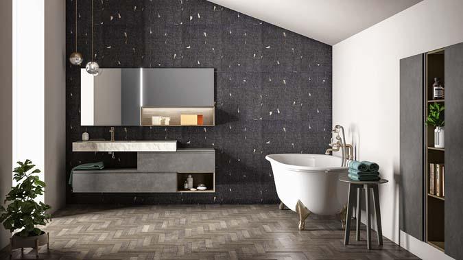 Fürdőszoba / Memento_3 - fürdőszoba bútor kompozíció