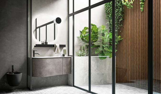 Fürdőszoba / Versa_3 - fürdőszoba bútor kompozíció