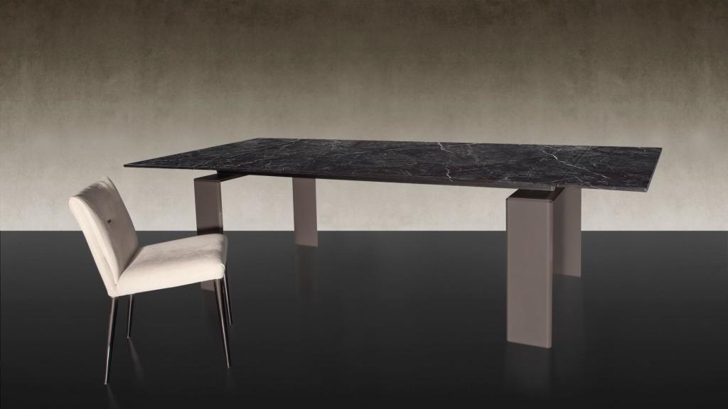 Étkezőasztalok / DARDO 72 - bővíthető étkezőasztal