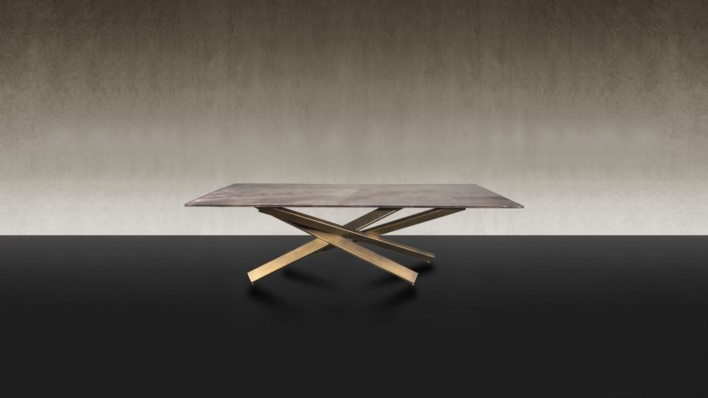 Étkezőasztalok / MIKADO 72 STEEL - étkezőasztal