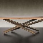 Étkezőasztalok / MIKADO 72 STEEL RADIX - bővíthető étkezőasztal