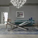 Étkezőasztalok / MIKADO 72 STEEL BEVEL WOOD - étkezőasztal