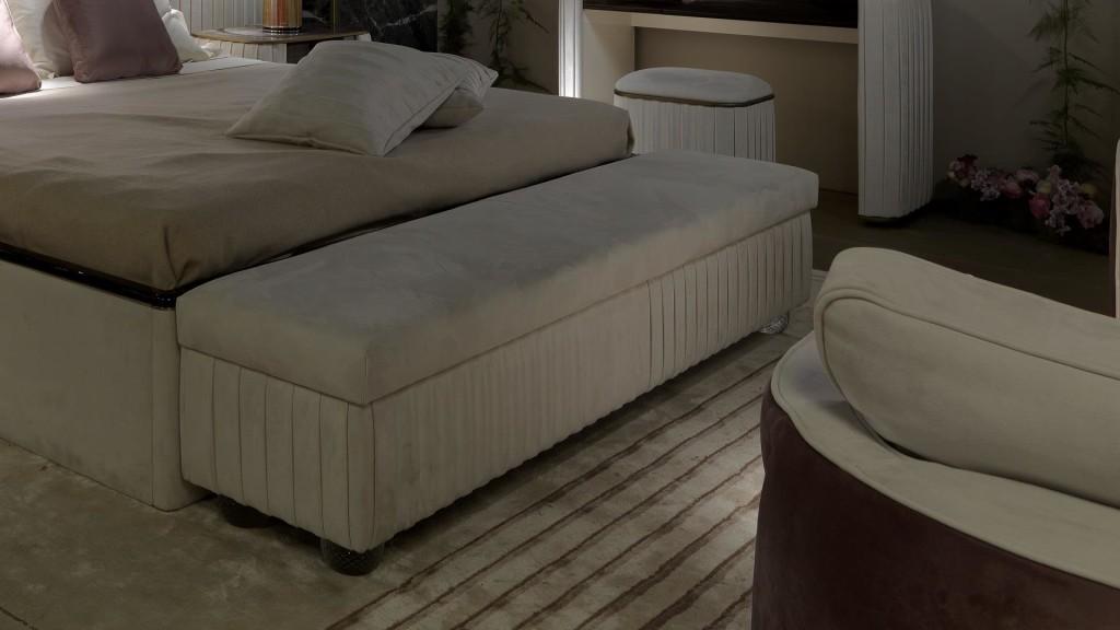 Ágyak / PLISSÉ - hálószoba pad
