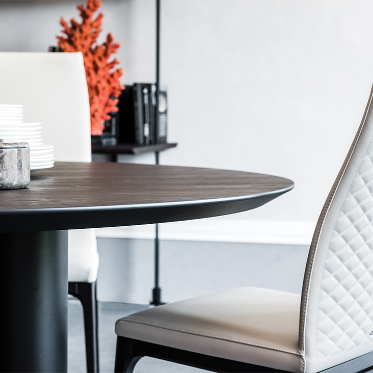 Étkezőasztalok / Roll Wood Round - étkezőasztal
