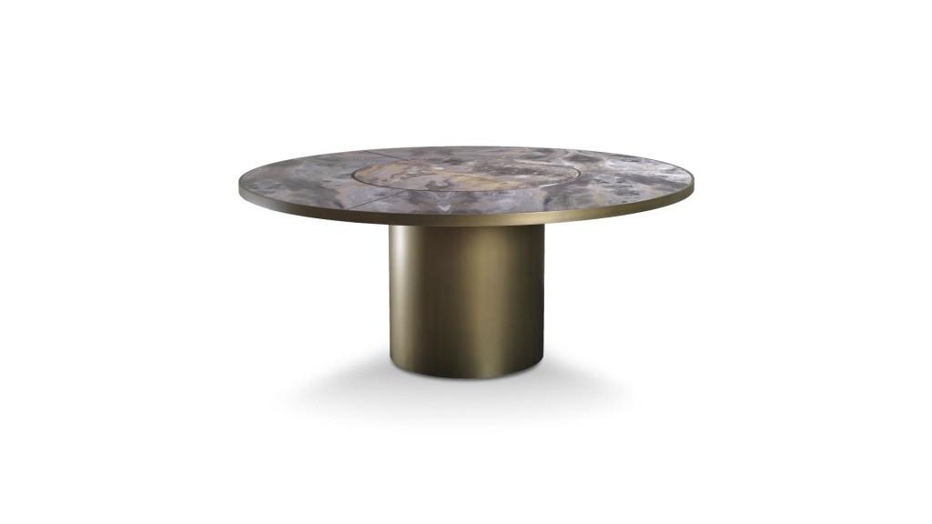 Étkezőasztalok / SIGNORE DEGLI ANELLI 72 STEEL - étkezőasztal