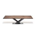 Étkezőasztalok / Stratos Wood_A - étkezőasztal