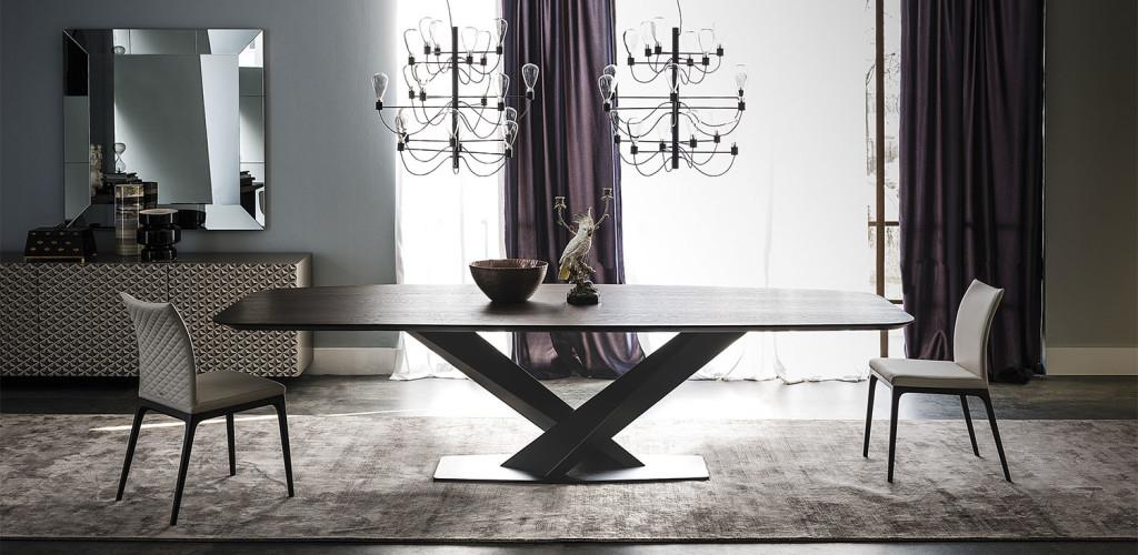 Étkezőasztalok / Stratos Wood_B - étkezőasztal