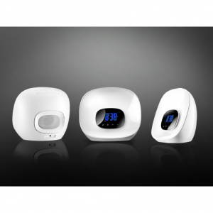 Sunrise 415801 - asztali lámpa ébresztőórával+1