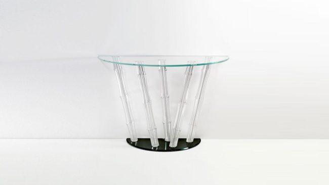 BAMBOO-konzolasztal