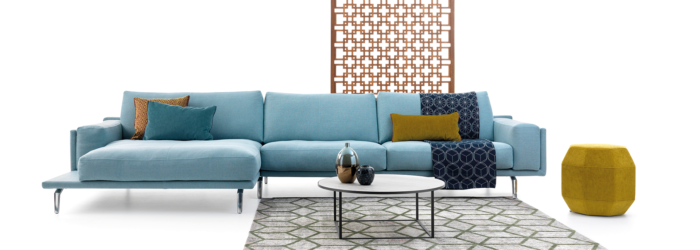 Modern moduláris kanapé Leolux Bellice